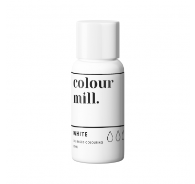 Colour Mill Oil Based Food Colouring 20ml - White