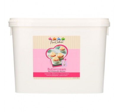 FunCakes Mix voor Botercrème 4,5kg -Emmer-