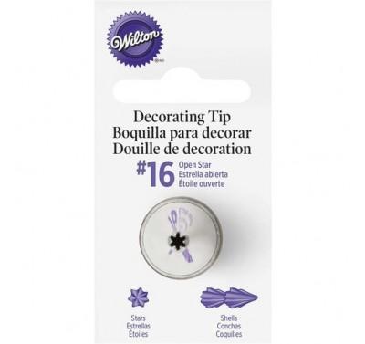 Wilton Decorating Tip #16 Open Star