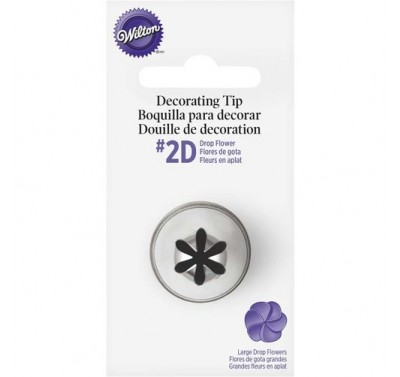 Wilton Decorating Tip #2D Drop Flower