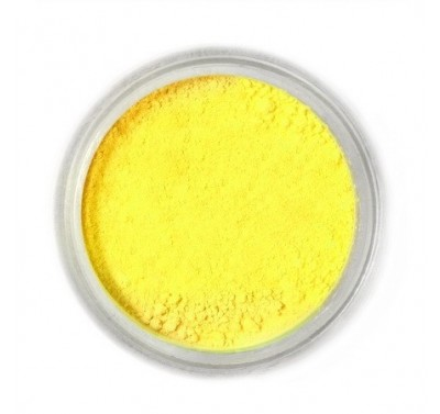 Fractal Colors - FunDustic® Edible Food Dust - Lemon Yellow