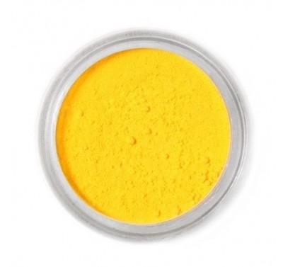 Fractal Colors - FunDustic® Edible Food Dust - Canary Yellow