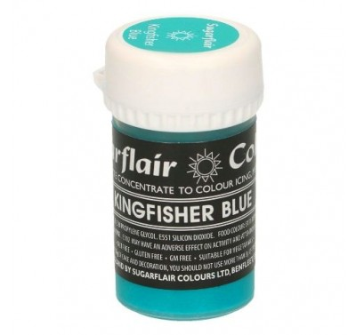Sugarflair Paste Colour Pastel Kingfisher Blue