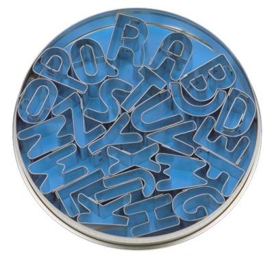 Alfabet set metaal 26 delig