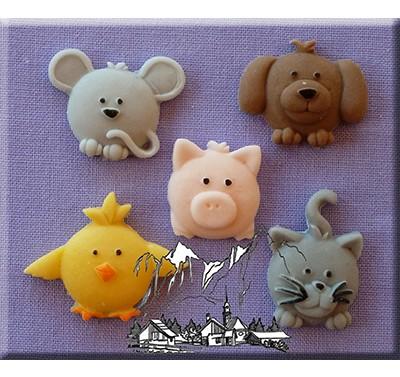 Alphabet Moulds - Cute Animals