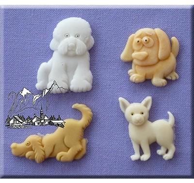 Alphabet Moulds - Dogs