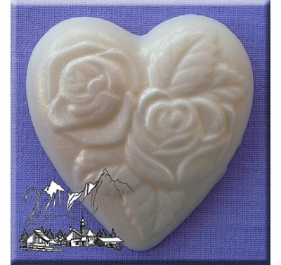 Alphabet Moulds - Heart with Roses