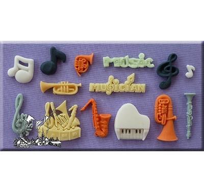 Alphabet Moulds - Music