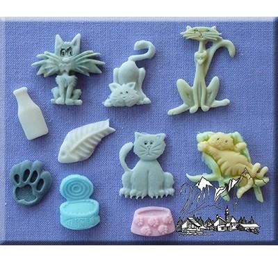 Alphabet Moulds - Cats