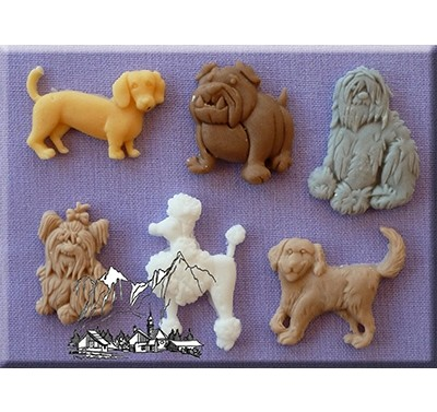 Alphabet Moulds - Dogs 2