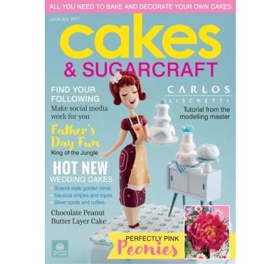 Cakes & Sugarcraft Magazine June/July 2017
