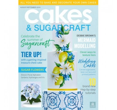 Cakes & Sugarcraft Augustus/September 2019