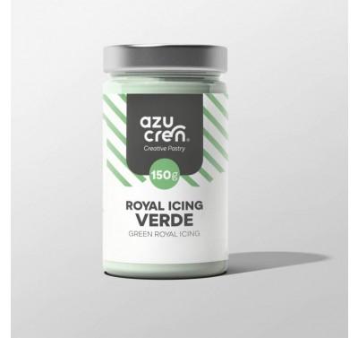 Azucren Royal Icing Green - 150gr