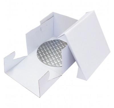 PME 25cm Round Cake Drum and Cake Box