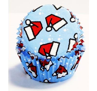 PME Santa Hats Mini Baking Cases Pk/100