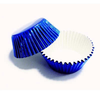 PME Metallic Blue Standard Baking Cases Pk/30