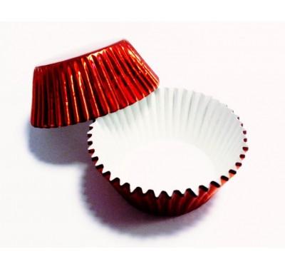 PME Metallic Red Standard Baking Cases Pk/30
