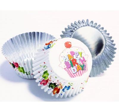 PME Balloons Decorative Foil Baking Cups Pk/30