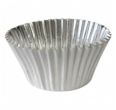 PME Deep Fill Foil Lined Baking Cases - White pk/30