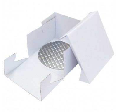 PME 33cm Round Cake Card and Cake Box