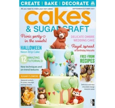 Cakes & Sugarcraft 165 September/October 2021 - kaft licht beschadigd