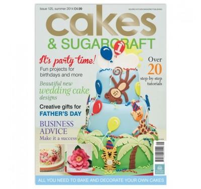 Cakes & Sugarcraft 125 - Zomer 2014