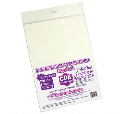 CDA Edible Wafer Card- pk6
