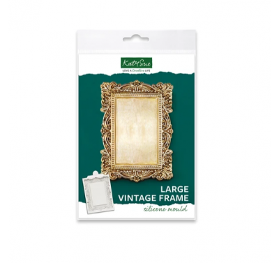 Katy Sue - Large Vintage Frame Silicone Mould