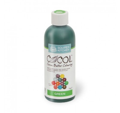 SK Professional COCOL Chocolate Colouring 75g Green