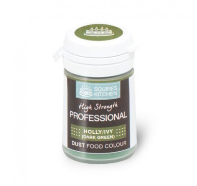 SK Professional Dust Food Colour Holly/Ivy