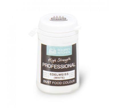 SK Professional Dust Food Colour Edelweiss (White)