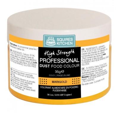 SK Professional Dust Food Colour Marigold (Tangerine) - 35g - grote pot