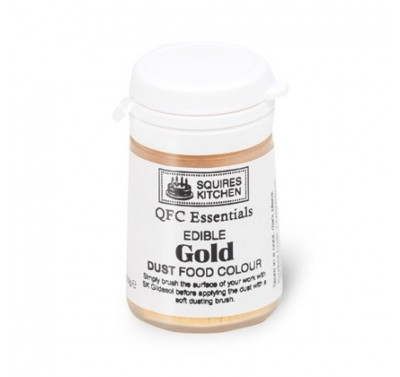 SK QFC Quality Food Colour Dust Gold 5.5g