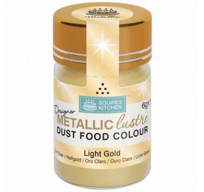 SK Designer Metallic Lustre Dust Light Gold - 6g