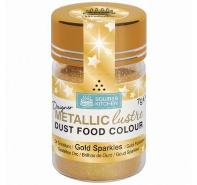 SK Designer Metallic Lustre Dust Gold Sparkles - 7g
