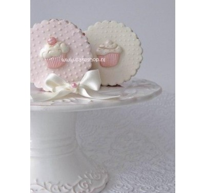 Alphabet Moulds - Cupcakes mould