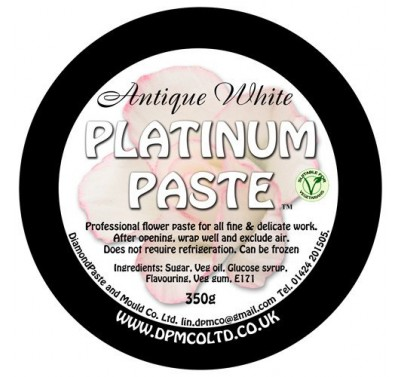 DPM Platinum Paste Antique White - 350g