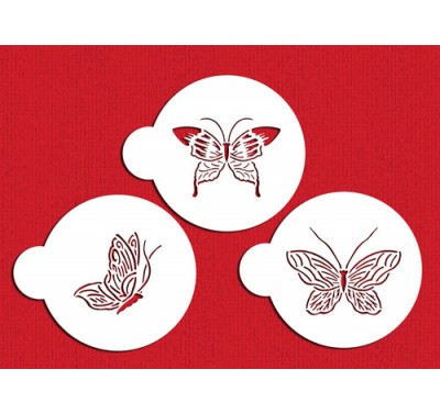 Designer Stencils Butterfly Cookie Tops