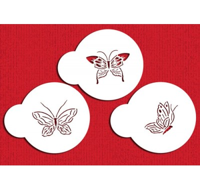 Designer Stencils Butterfly Tops Small