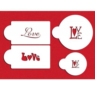 Designer Stencils Love