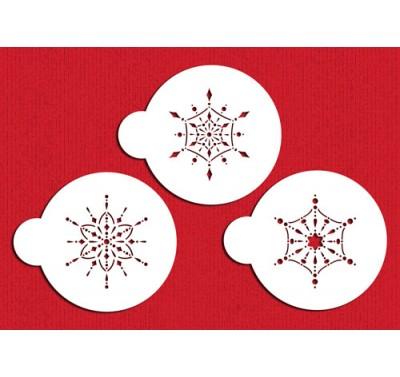 Designer Stencils Jewelled Snowflake