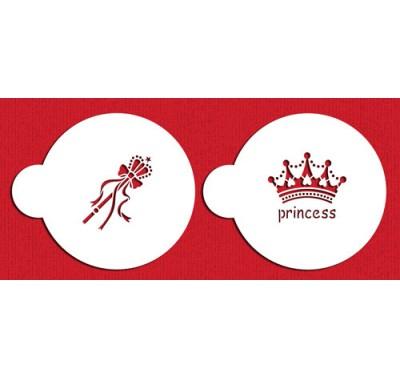 Designer Stencils Princess Crown