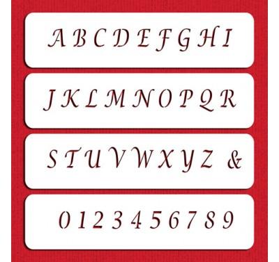 Designer Stencils Small Letters