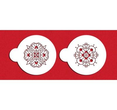 Designer Stencils Victorian Crochet Cookie Set