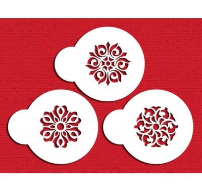 Designer Stencils Gem Pendant Cookie/Cupcake set