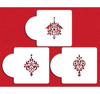 Designer Stencils Gem Pendant  set