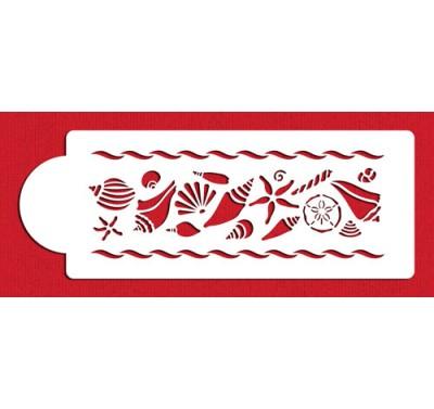 Designer Stencils Shell Variety Border
