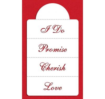 Designer Stencils Love & Cherish...