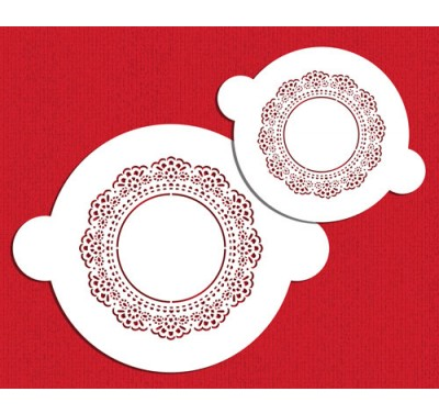 Designer Stencils Doily Circle Set by Sharon Wee