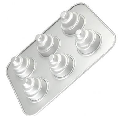 Fat Daddio's 3 tier mini cake pan